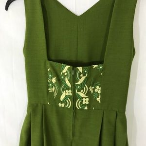 VINTAGE German Dirndl Dress Bavarian w/ Apron